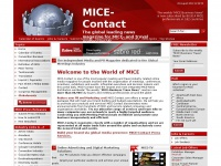 MICE-Contact Home  We promote your business globally