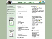 Licgweb.doacs.state.fl.us - MyLicenseSite - Home - Division of Licensing - Florida Department of Agriculture and Consumer Services