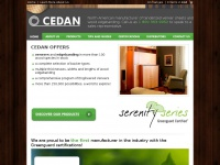 Cedan.com - CEDAN specializing in tenderized veneer sheets  and edgebanding