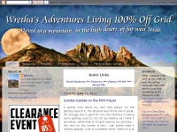 Wretha's Adventures Living Off Grid