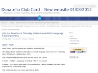 Donatelloclubcard.co.uk