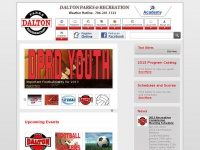 Mydprd.com - Dalton Parks and Recreation Department