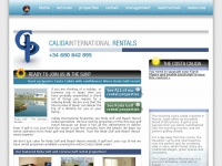Calidainternationalrentals.co.uk
