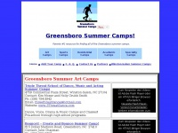 2014 Greensboro Summer Camps, Greensboro summer camps,