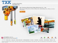 Txk.net.cn - Electric Hoist, China Chain Hoist, Electric Chain Hoist Manufacturer - TXK Hoist