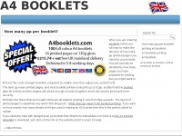 A4booklets.co.uk