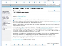 SOFLENS™ Daily Toric contact lenses from The Contact Lens Shop | Cheap Lenses Online