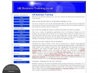 Ukbusinesstraining.co.uk
