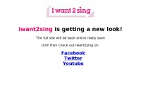 Iwant2sing.co.uk