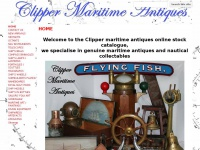 clipper-maritime-antiques.co.uk