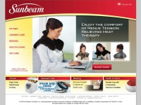 Shop Sunbeam® Products | Solutions for Your Everyday | Kitchen Appliances Garment Care Heated Bedding Pain Relief Humidifiers & Heaters Pet Care