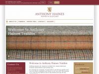 Anthonyhainestextiles.co.uk