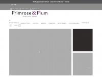 primroseandplum.co.uk