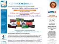 clothinglabels4u.com