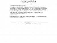 Careregistry.co.uk
