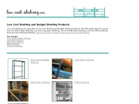 Looking for Low Cost Shelving and Budget Shelving Products?