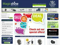 Magicshinebikelights.co.uk