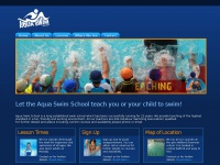 Theaquaswimschool.co.uk