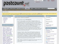 Postcount.net