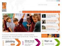 A charity working in partnership to fight poverty - Concern Universal