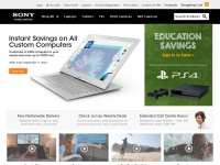 Sony Online Store - Buy Laptops, Ultrabooks, Tablets, LED TVs, Digital Cameras and more - Sony CA