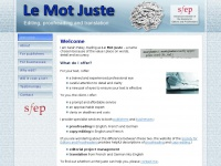 le-mot-juste.co.uk