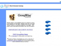 Gw.dhr.state.ga.us - DHR GroupWise WebAccess Main Page