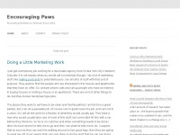Encouragingpaws.com - Encouraging Paws