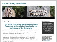 Crookcountyfoundation.org