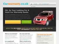 carwarranty.co.uk Thumbnail