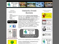 Ontarioeventreview.ca