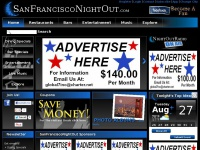 San Francisco CA Nightlife, Events, Restaurants, Bars, Music, Entertainment, Hotels