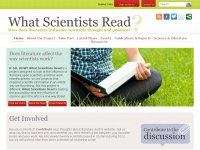 whatscientistsread.com