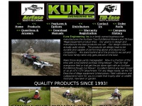 Kunzeng.com - Kunz, AcrEase Tow-Pull Behind Mowers & Till-Ease ATV UTV Tillage Equipment, Finish and Rough Cut Trailmowers