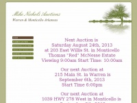Mikenicholsauctions.com - Mike Nichols Auctions - HOME