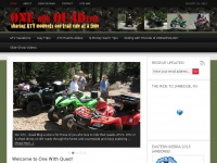 One With Quad.com - ATV Riding in the Western States, ATV Day Trips, Tours & Money Saving Ideas, Quad Gear Reviews - Sharing ATV - Quad Bike Trails - ATV Trip Info - Reviews and Money Saving Tips