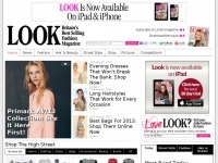 High Street Fashion, Celebrity Style, Hairstyles and Beauty - Look Magazine