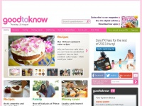 Easy recipes, health advice & family days out | goodtoknow