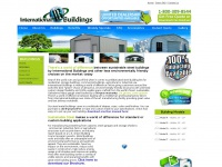 Intlbuildings.com - Steel Buildings, Metal Building Garage Kits, Storage, Pole Barns, Garage Kits Prices from International Buildings