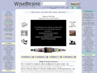 Wise Desire ~ Christian Videos & Sermons