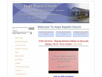 Welcome To Hope Baptist Church - Hope Baptist Church