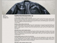 leatherbomberjackets.us