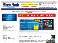Micromark.com - Shop Small Hobby Tools & Miniature Tools from Micro Mark