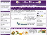 index - Angie Scarr Miniatures, Crafts and Nail Art