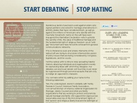 startdebatingstophating.com