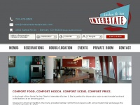 interstaterestaurant.com