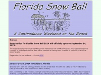 Florida Snow Ball 2015: A Contradance Weekend on the Beach