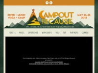 campoutforthecause.org Thumbnail