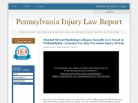 pennsylvaniainjurylawreport.com