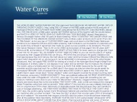 Watercuresanything.com - Water Cures by John Ellis